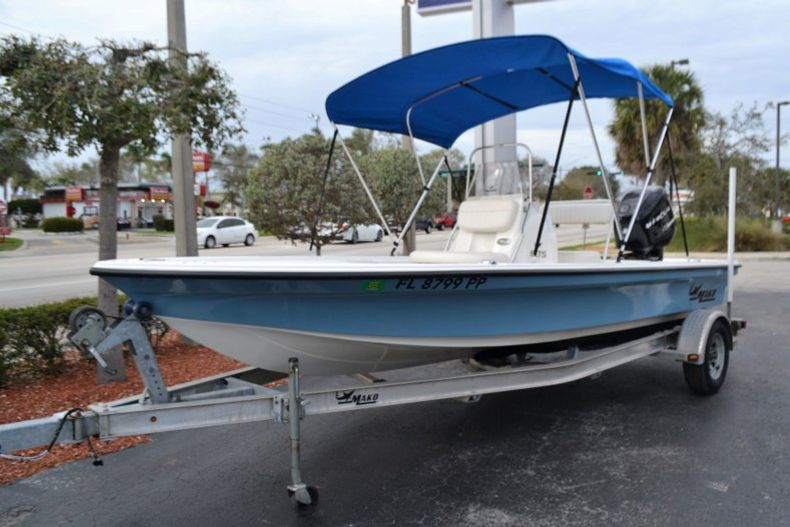 Thumbnail 1 for Used 2014 Mako 18 LTS boat for sale in Vero Beach, FL