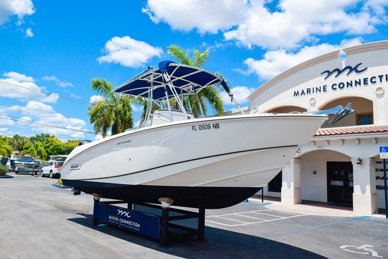 Thumbnail 1 for Used 2006 Boston Whaler 240 Outrage boat for sale in West Palm Beach, FL