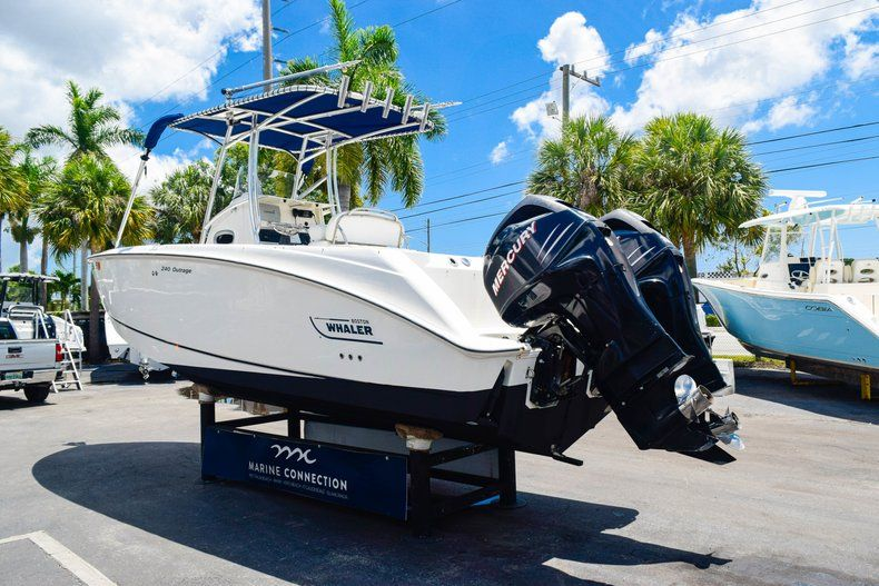Thumbnail 5 for Used 2006 Boston Whaler 240 Outrage boat for sale in West Palm Beach, FL