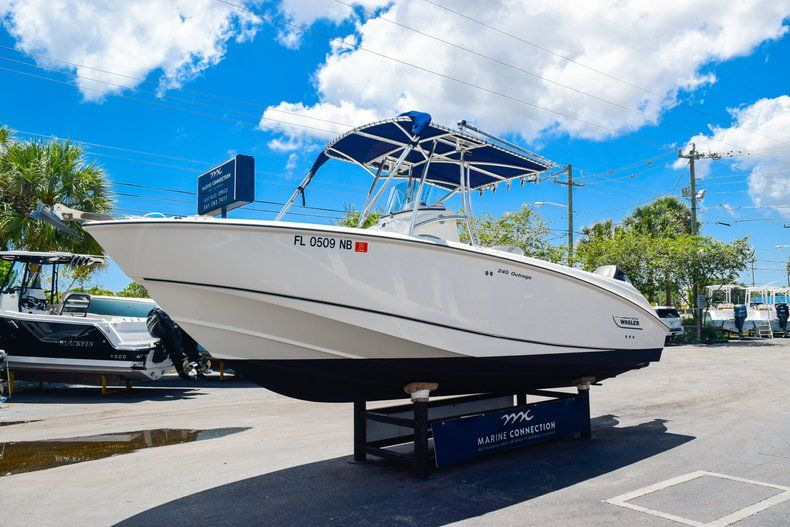 Thumbnail 4 for Used 2006 Boston Whaler 240 Outrage boat for sale in West Palm Beach, FL