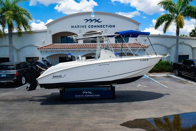 Thumbnail 51 for Used 2006 Boston Whaler 240 Outrage boat for sale in West Palm Beach, FL