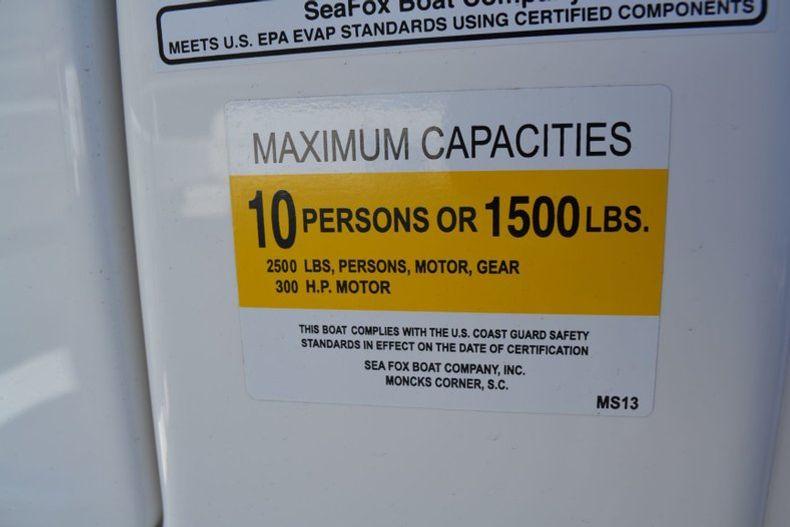 Thumbnail 24 for Used 2014 Sea Fox 249 Avenger boat for sale in Vero Beach, FL