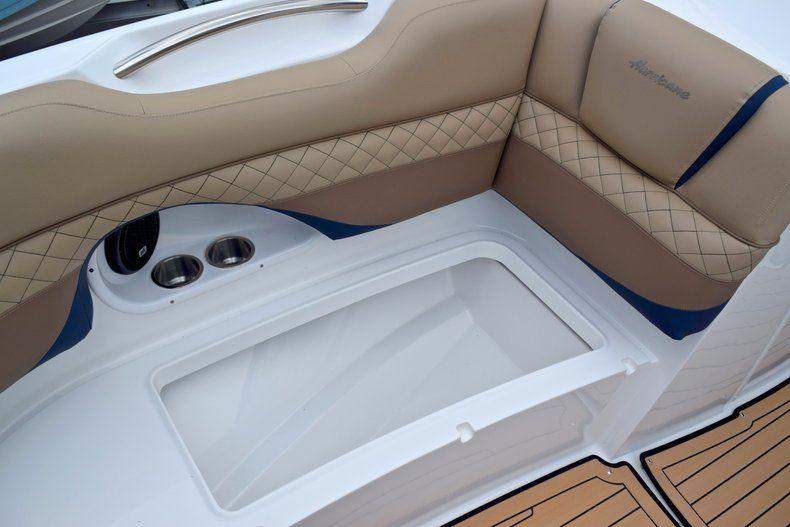 Thumbnail 53 for New 2019 Hurricane SunDeck SD 2690 OB boat for sale in Vero Beach, FL