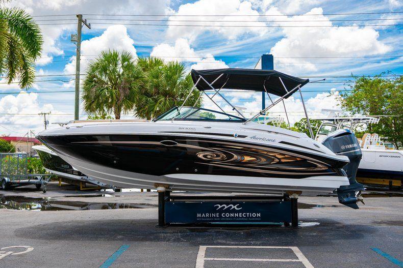 Thumbnail 4 for New 2019 Hurricane SunDeck SD 2400 OB boat for sale in Miami, FL