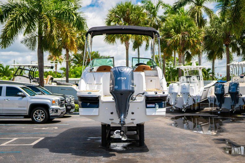 Thumbnail 6 for New 2019 Hurricane SunDeck SD 2400 OB boat for sale in Miami, FL