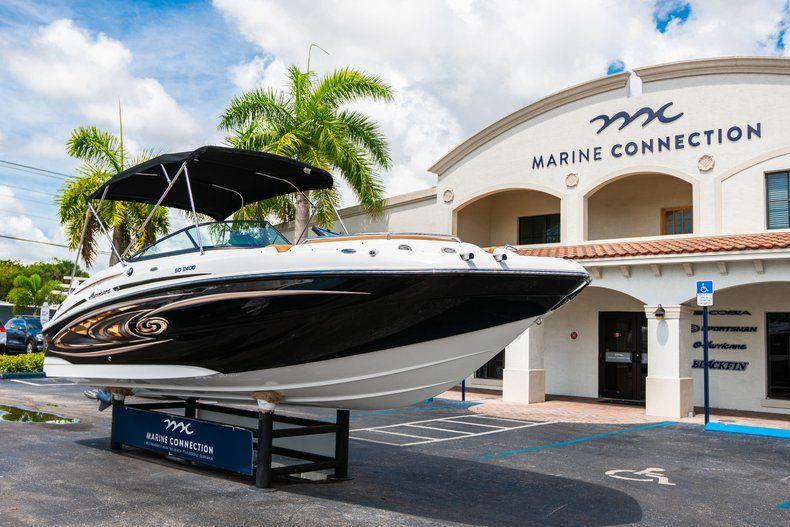 Thumbnail 1 for New 2019 Hurricane SunDeck SD 2400 OB boat for sale in Miami, FL