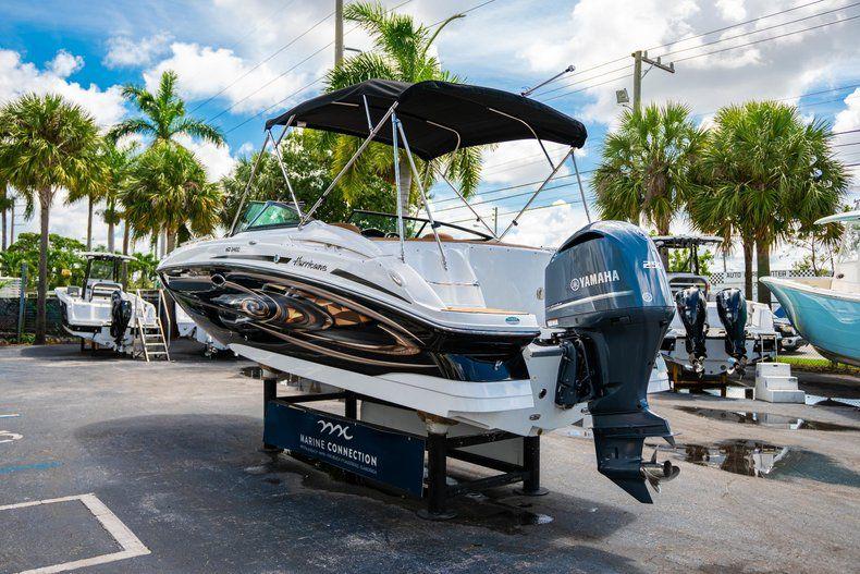Thumbnail 5 for New 2019 Hurricane SunDeck SD 2400 OB boat for sale in Miami, FL