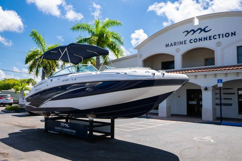 Thumbnail 1 for New 2019 Hurricane SunDeck SD 2400 OB boat for sale in West Palm Beach, FL