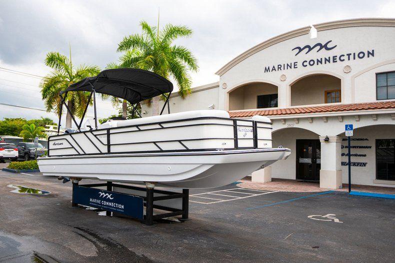 Thumbnail 1 for New 2019 Hurricane FunDeck FD 226 OB boat for sale in Stuart, FL