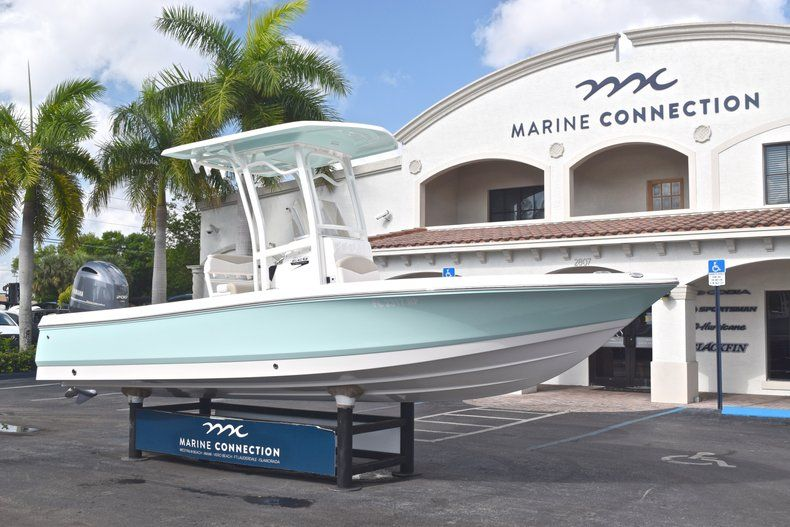 Thumbnail 1 for Used 2017 Robalo 226 Bay Boat boat for sale in West Palm Beach, FL