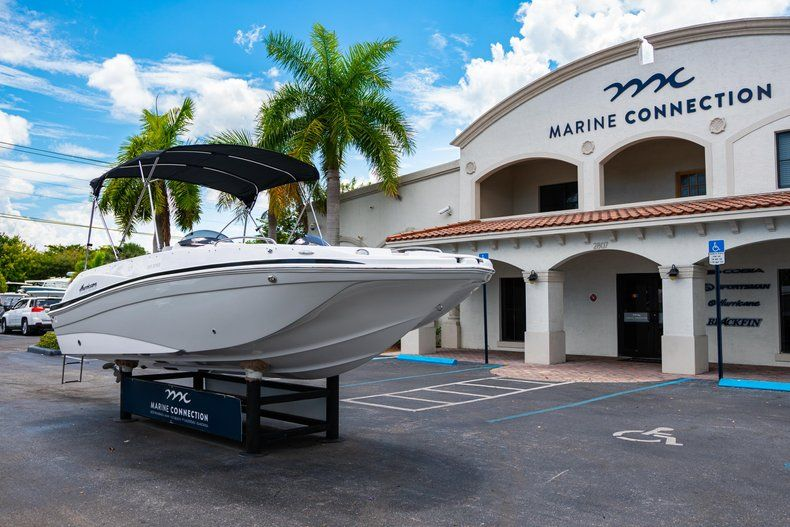 Thumbnail 1 for New 2020 Hurricane 218 SunDeck Sport OB boat for sale in West Palm Beach, FL