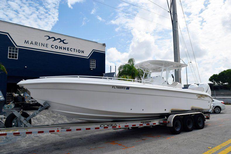 Thumbnail 5 for Used 2018 Glasstream 328 boat for sale in Miami, FL