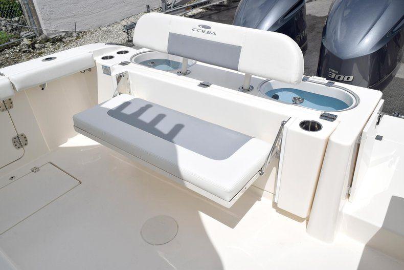 Thumbnail 15 for New 2019 Cobia 301 CC Center Console boat for sale in Vero Beach, FL