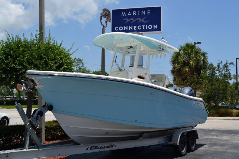 Thumbnail 1 for New 2019 Cobia 240 CC Center Console boat for sale in Vero Beach, FL