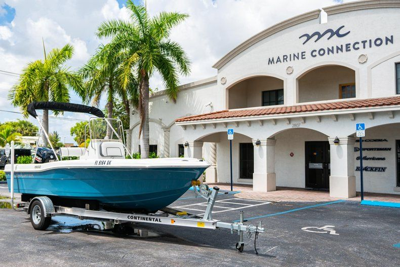 Thumbnail 1 for Used 2019 Clearwater 1900 CC boat for sale in West Palm Beach, FL