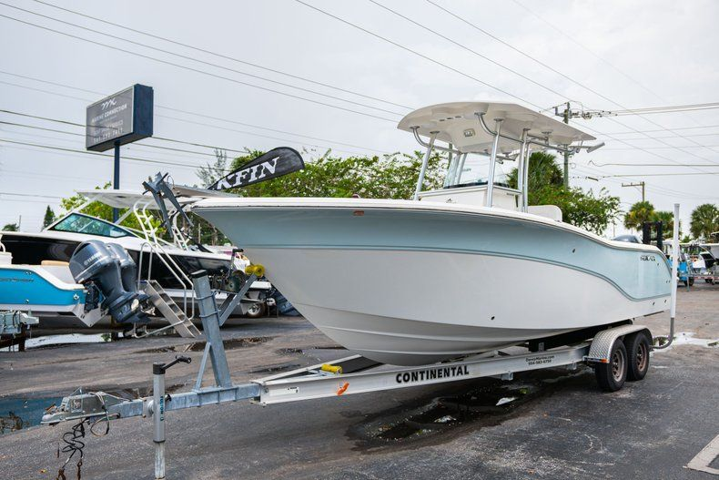 Thumbnail 3 for Used 2013 Cobia 256 Center Console boat for sale in West Palm Beach, FL