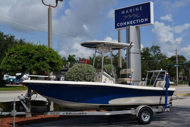 Thumbnail 1 for Used 2016 Carolina Skiff 21 SEA SKIFF boat for sale in Vero Beach, FL