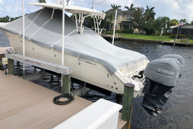 Thumbnail 1 for Used 2016 Cobia 344 Center Console boat for sale in Vero Beach, FL