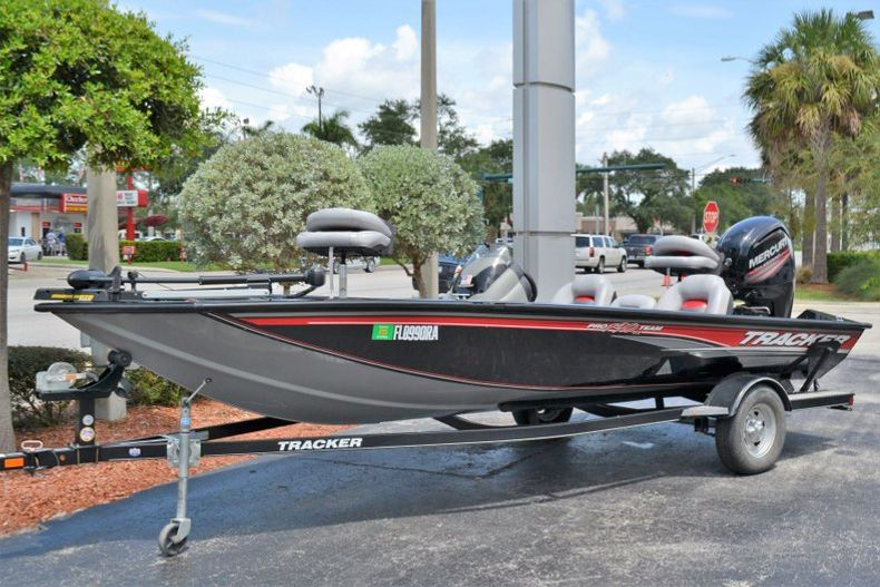 Thumbnail 1 for Used 2016 Tracker Pro 190 TX boat for sale in Vero Beach, FL