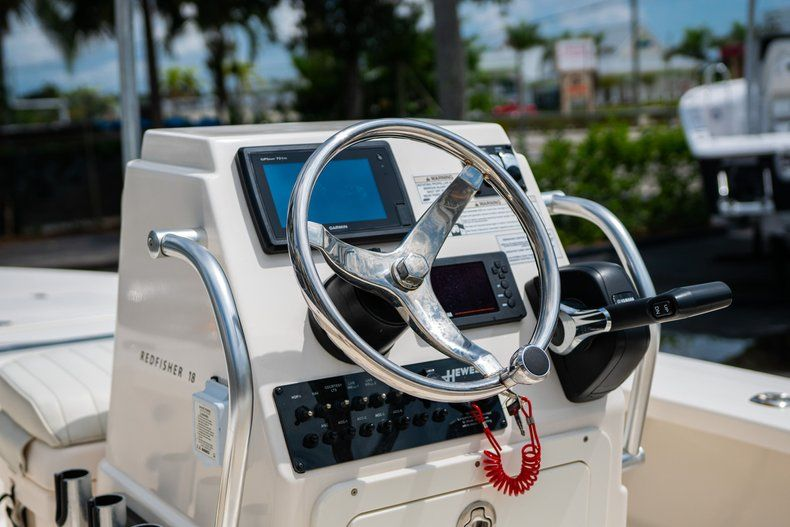 Thumbnail 18 for Used 2018 Hewes Redfisher 18 boat for sale in West Palm Beach, FL