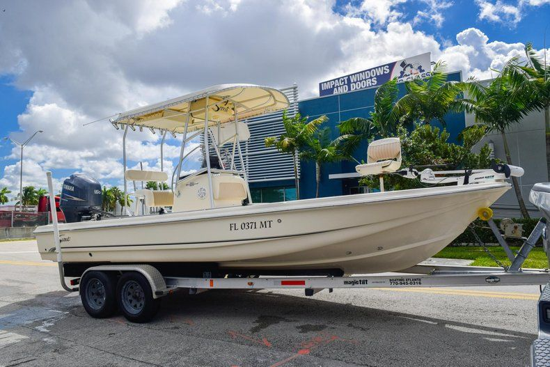 Thumbnail 1 for Used 2004 Scout 220 Bay Scout boat for sale in Miami, FL