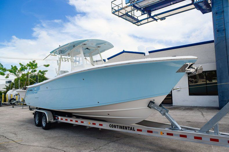 Thumbnail 1 for New 2020 Cobia 301 CC Center Console boat for sale in Fort Lauderdale, FL