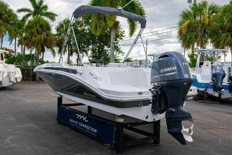 Thumbnail 5 for New 2020 Hurricane SS 185 OB boat for sale in Miami, FL