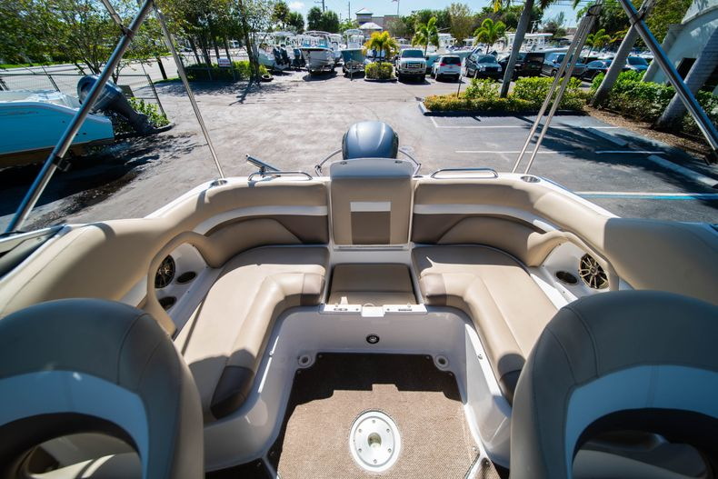 Thumbnail 12 for Used 2016 Hurricane SunDeck SD 2486 OB boat for sale in West Palm Beach, FL