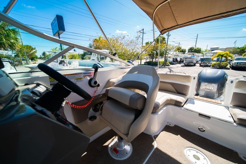 Thumbnail 28 for Used 2016 Hurricane SunDeck SD 2486 OB boat for sale in West Palm Beach, FL