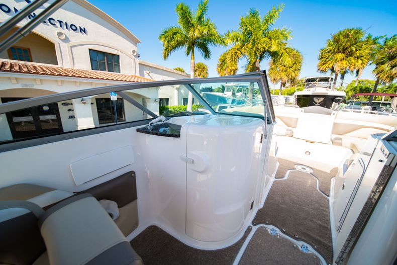 Thumbnail 24 for Used 2016 Hurricane SunDeck SD 2486 OB boat for sale in West Palm Beach, FL