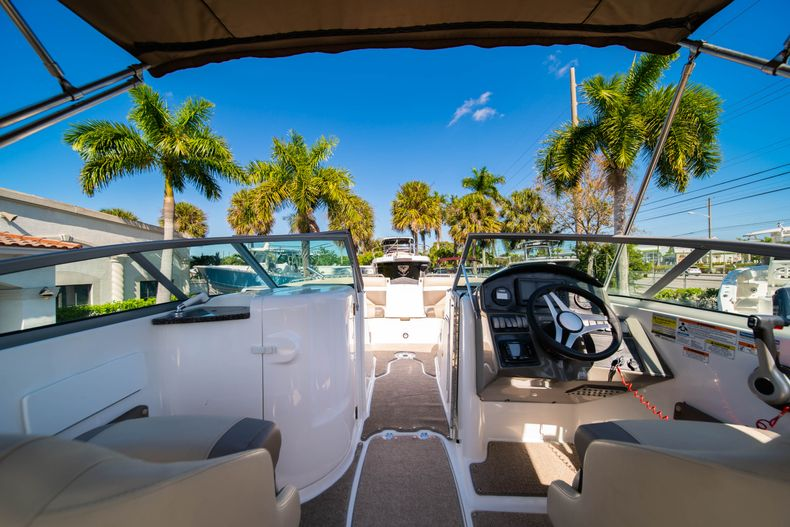 Thumbnail 11 for Used 2016 Hurricane SunDeck SD 2486 OB boat for sale in West Palm Beach, FL