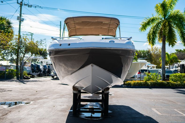 Thumbnail 2 for Used 2016 Hurricane SunDeck SD 2486 OB boat for sale in West Palm Beach, FL