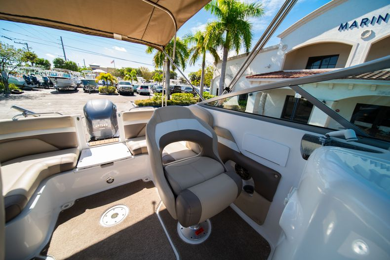 Thumbnail 31 for Used 2016 Hurricane SunDeck SD 2486 OB boat for sale in West Palm Beach, FL