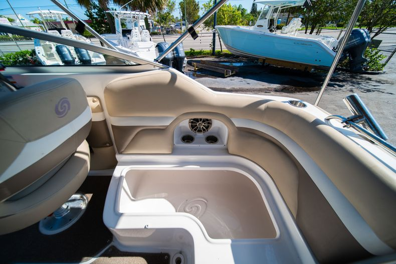 Thumbnail 15 for Used 2016 Hurricane SunDeck SD 2486 OB boat for sale in West Palm Beach, FL