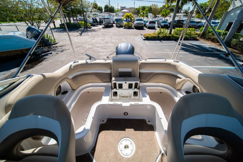Thumbnail 13 for Used 2016 Hurricane SunDeck SD 2486 OB boat for sale in West Palm Beach, FL