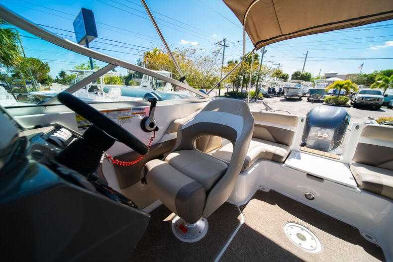 Thumbnail 29 for Used 2016 Hurricane SunDeck SD 2486 OB boat for sale in West Palm Beach, FL