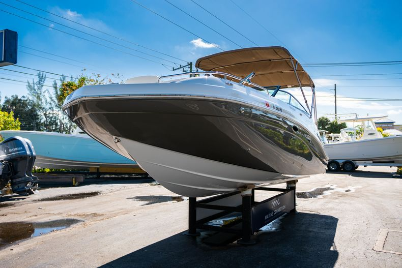 Thumbnail 3 for Used 2016 Hurricane SunDeck SD 2486 OB boat for sale in West Palm Beach, FL
