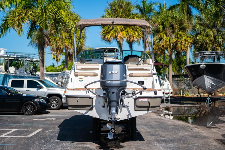 Thumbnail 6 for Used 2016 Hurricane SunDeck SD 2486 OB boat for sale in West Palm Beach, FL