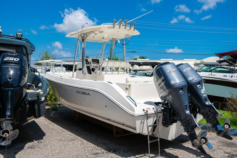 Thumbnail 1 for Used 2013 Cobia 256 Center Console boat for sale in West Palm Beach, FL