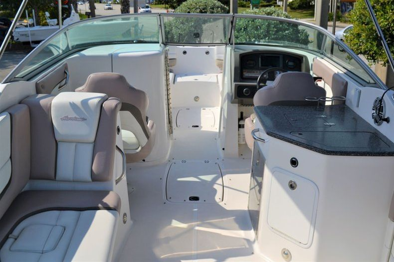 Thumbnail 9 for Used 2014 Hurricane SunDeck SD 2690 OB boat for sale in Vero Beach, FL