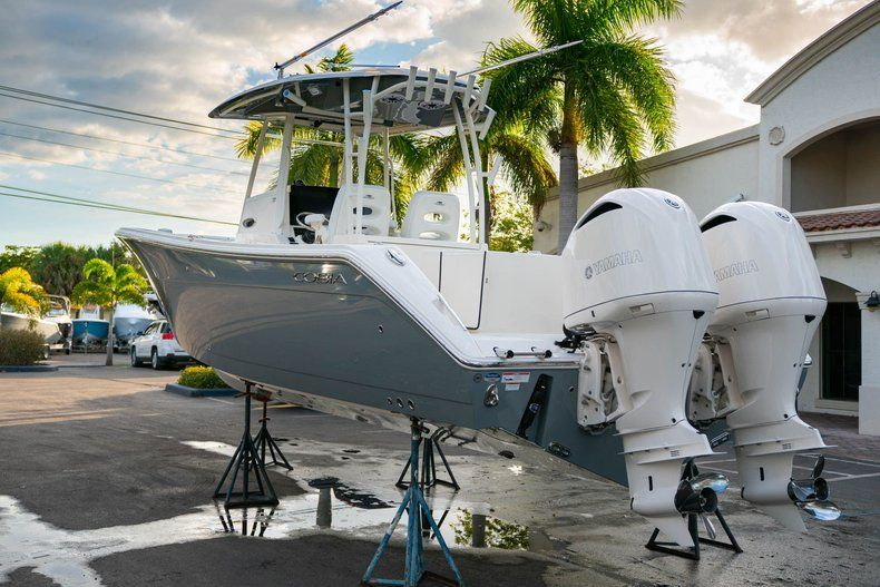 Thumbnail 1 for New 2020 Cobia 320 CC Center Console boat for sale in West Palm Beach, FL