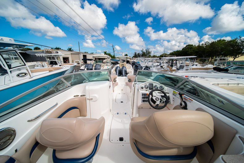 Thumbnail 5 for Used 2013 Hurricane SunDeck SD 2400 OB boat for sale in West Palm Beach, FL