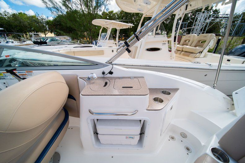 Thumbnail 6 for Used 2013 Hurricane SunDeck SD 2400 OB boat for sale in West Palm Beach, FL