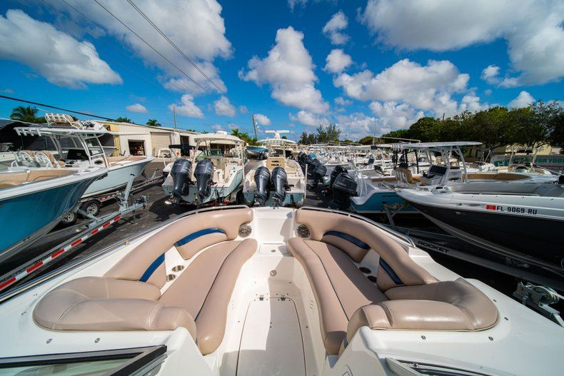 Thumbnail 10 for Used 2013 Hurricane SunDeck SD 2400 OB boat for sale in West Palm Beach, FL