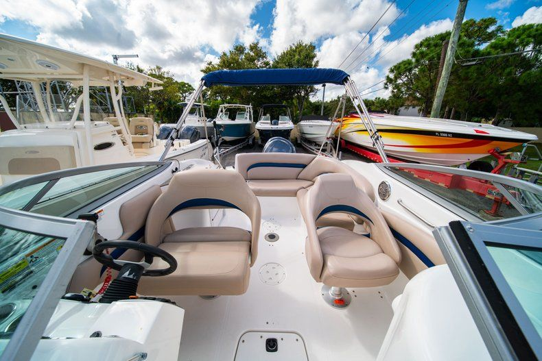 Thumbnail 9 for Used 2013 Hurricane SunDeck SD 2400 OB boat for sale in West Palm Beach, FL