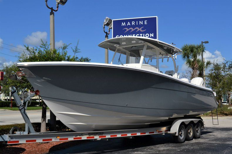 Thumbnail 1 for New 2020 Cobia 350 CC Center Console boat for sale in Vero Beach, FL