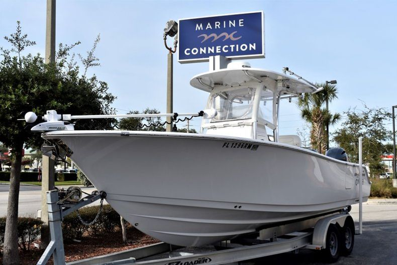 Thumbnail 1 for Used 2016 Sportsman Open 252 Center Console boat for sale in Vero Beach, FL