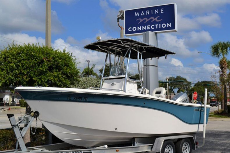 Thumbnail 1 for Used 2011 Sea Fox 206 Center Console boat for sale in Vero Beach, FL